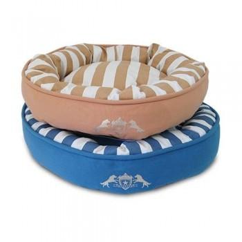 Cama para perro Donut rayas