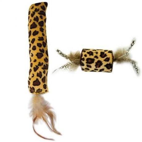 Juguete para gato Safari con plumas