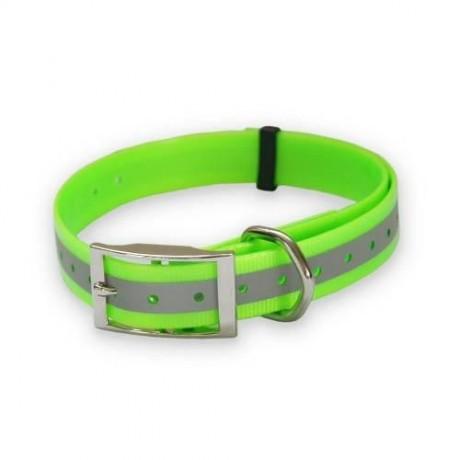 Collar para perro poliuretano reflectante