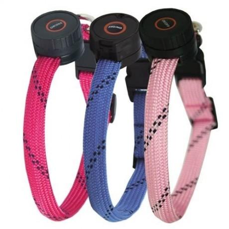 Collar para perro nylon led mini