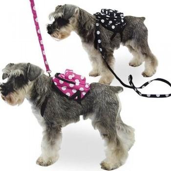 Mochila para perros Lunares