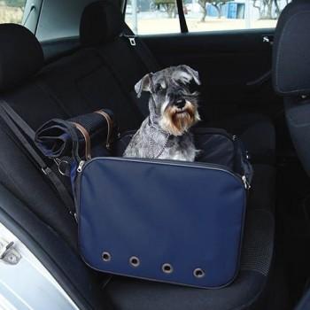 Cesta de viaje para perro