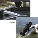 Rampa para perro nautica plegable