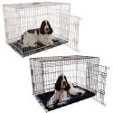 Funda jaula plegable para perro