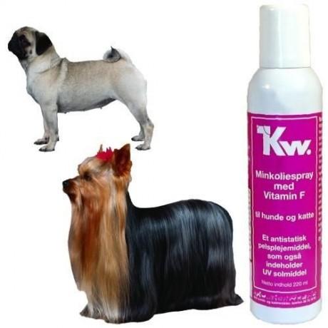 Aceite de Visón con Lanolina para perros y gatos