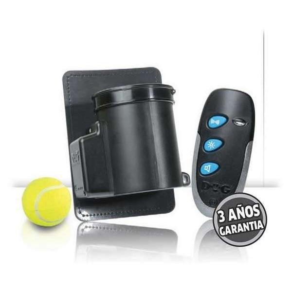Mini dispensador de pelotas para perros