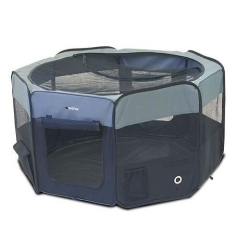 Parque para perro de loneta