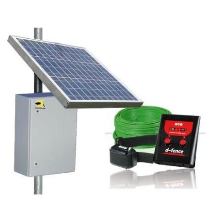 Valla invisible DogTrace DFence energia autonoma Solar