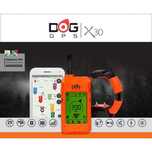 DOG GPS Dogtrace X30T para perro