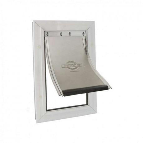 Puerta para perro Petsafe Staywell Aluminio mediana