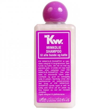 Champu para perros concentrado KW Aceite Visón