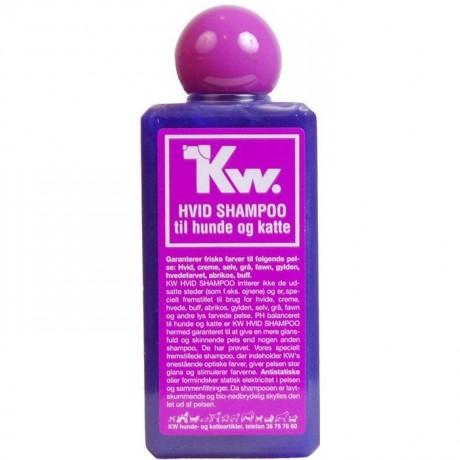 Champu para perro concentrado KW pelo blanco