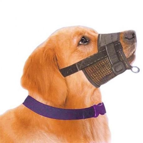 Bozal para perro nylon ajustable
